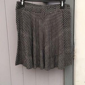Loft circle skirt with pockets